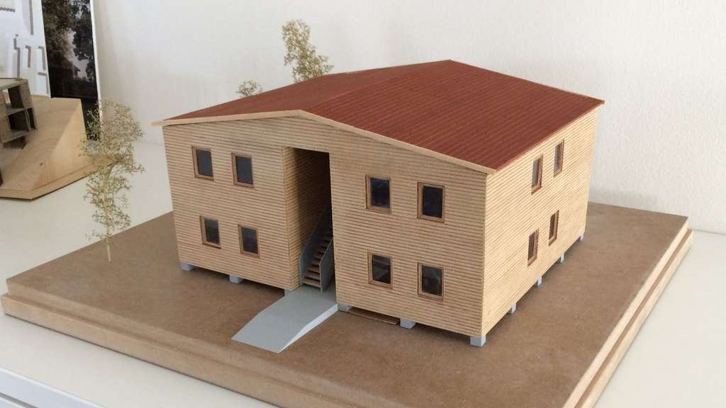 Musterhaus-Modell